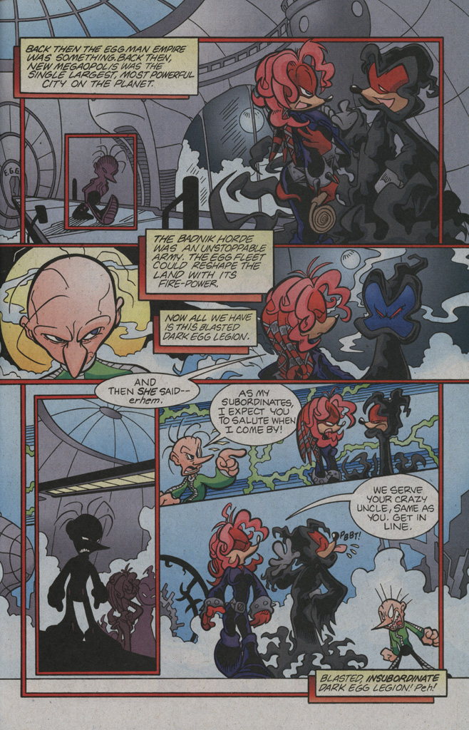 Read online Sonic The Hedgehog comic -  Issue #194 - 23