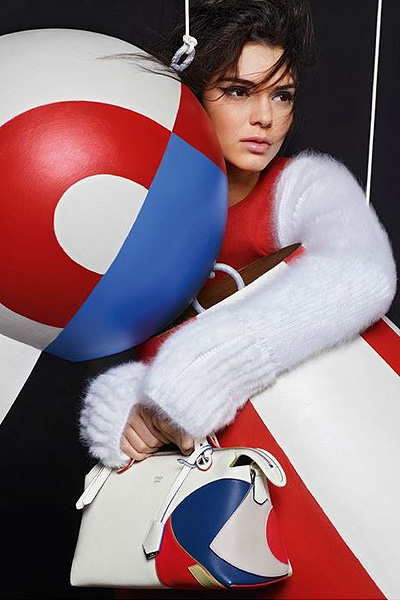 Kendall Jenner for Fendi Fshion photo