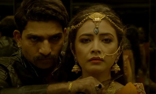 Jatin Sarna and Geetanjali Thapa in Sacred Games