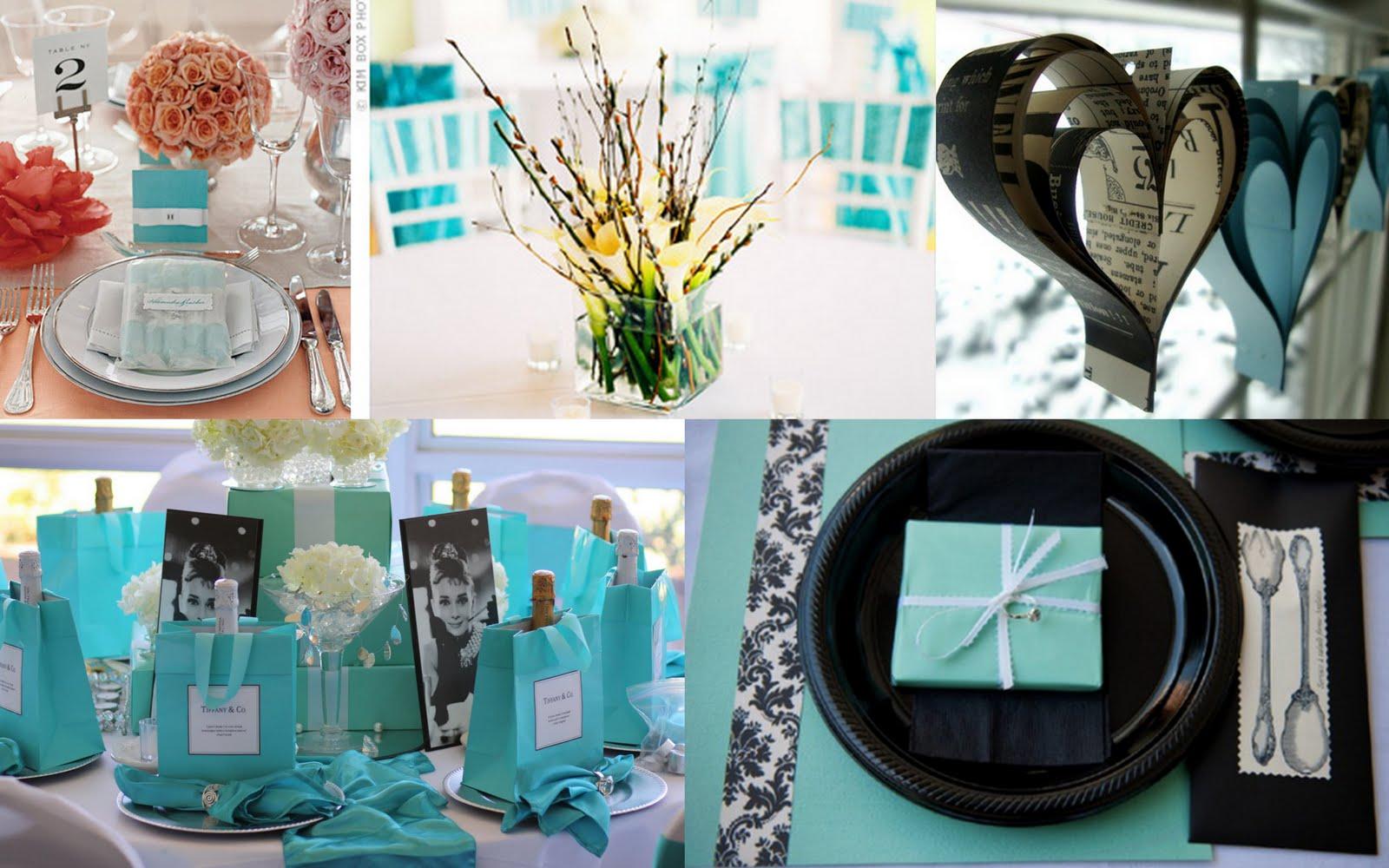 Tiffany Blue Bridal Shower Decorations