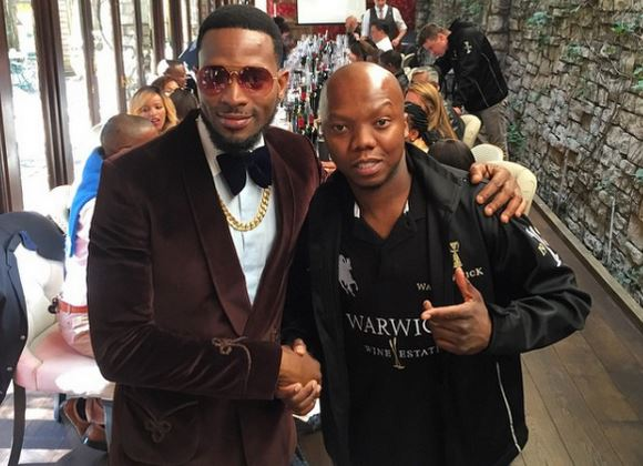 D'banj in South Africa MAMA 2015
