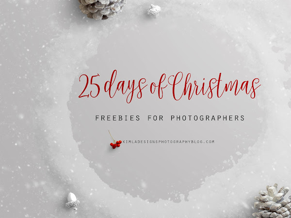 25 Days of Christmas Freebies for Photographers