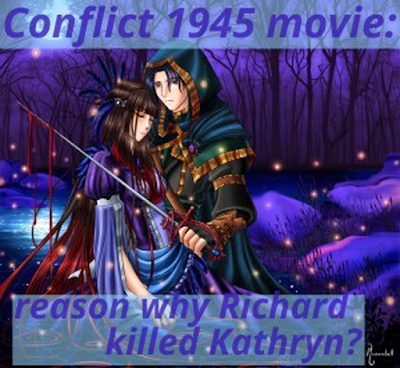 conflict 1945, murder mystery movie, richard mason, kathryn mason