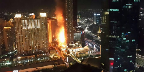 Kebakaran Apartemen Neo Soho