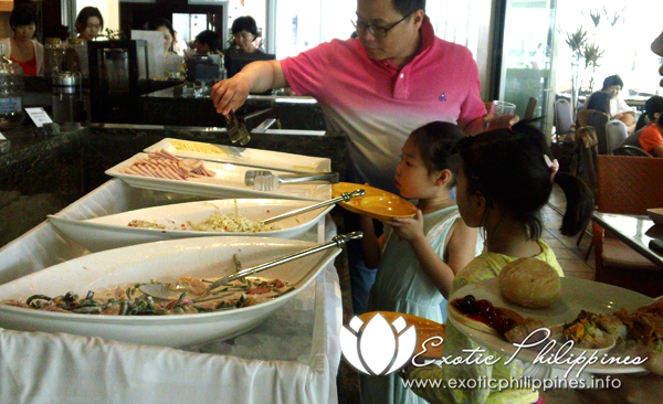 Jpark Island Resort the Abalone Buffet Restaurant
