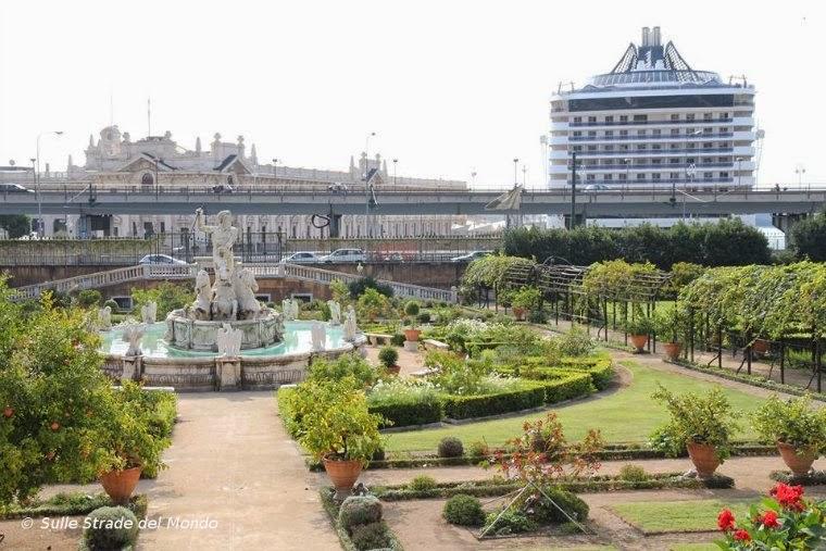 il parco del palazzo del Principe
