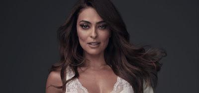 A Dona do Pedaço: Juliana Paes sensualiza nos bastidores da Globo: 'Deu vontade'