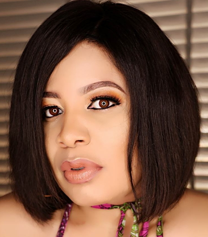 monalisa chinda women running okra mouth
