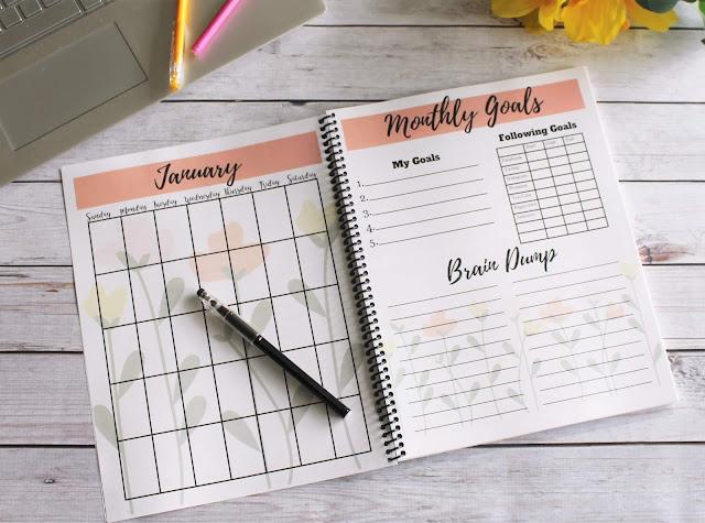 2019 free blog planner printables