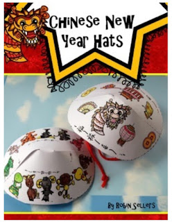 printable chinese new year hat