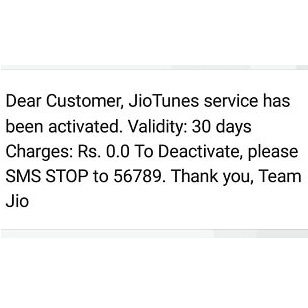 Activate Jio Caller Tune free for Lifetime (Three ways)
