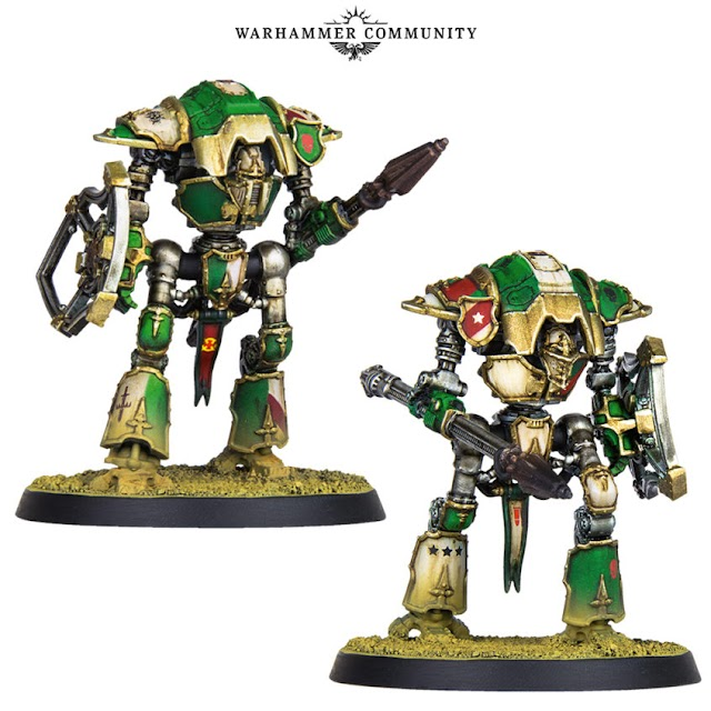 Preview: Cerastus Knights and New Warlord Titan Weapons