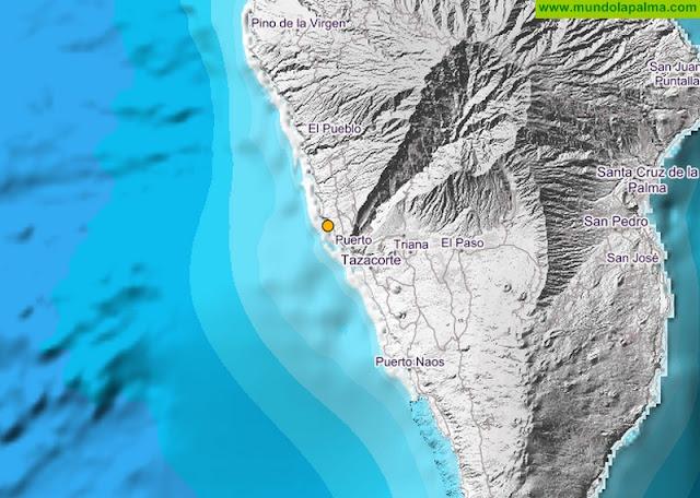 Terremoto en Tazacorte, Isla de La Palma