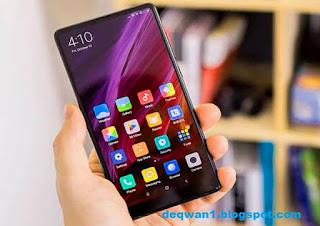 Tampilan Layar Xiaomi Mi Mix 2