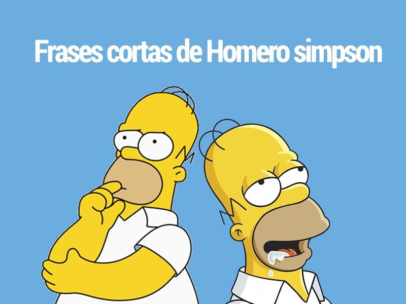 Frases cortas de Homero simpson para reflexionar y reir a la vez