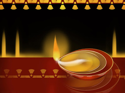 Happy Diwali Wishes Greeting Card HD Pic