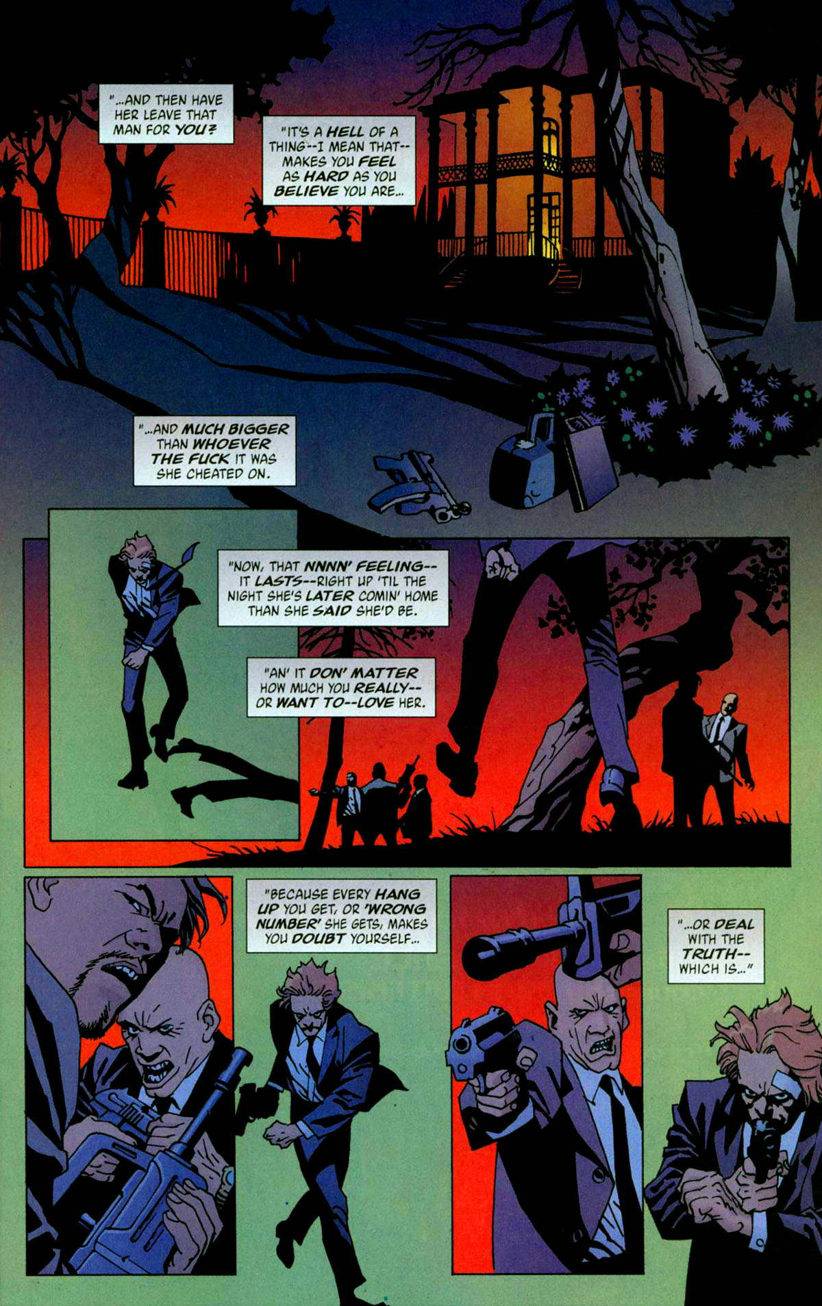 Read online 100 Bullets comic -  Issue #56 - 12