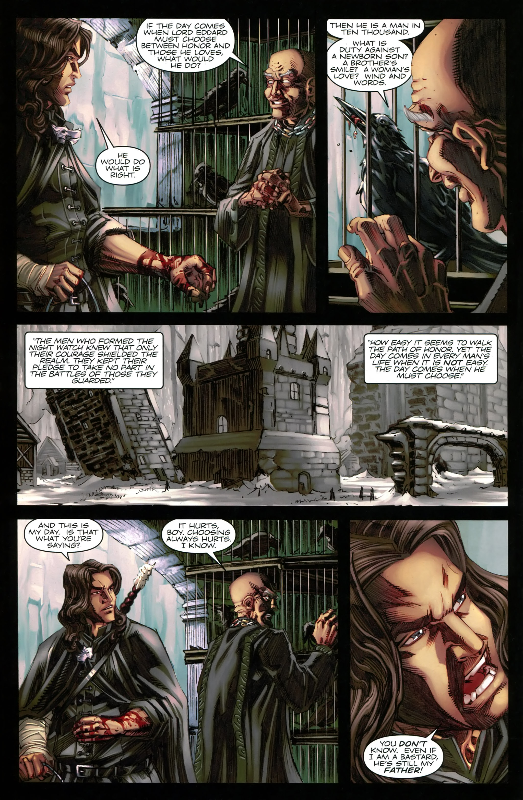 Read online A Game Of Thrones comic -  Issue #20 - 30