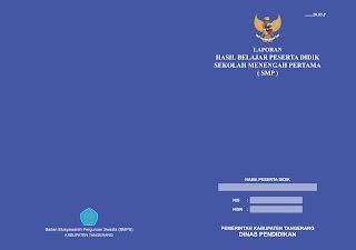 Cetak Raport SMP