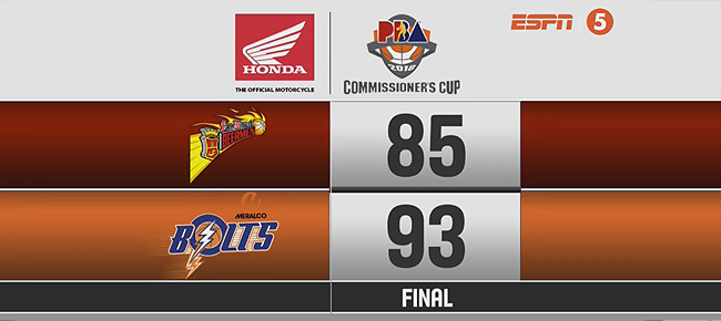 Meralco def. San Miguel, 93-85 (REPLAY VIDEO) May 9