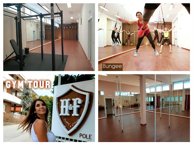 GYM TOUR   H&F POLE EMOTION