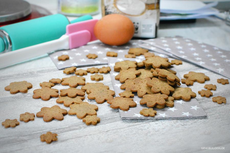 Rezept: Leberwurstkekse für Hunde