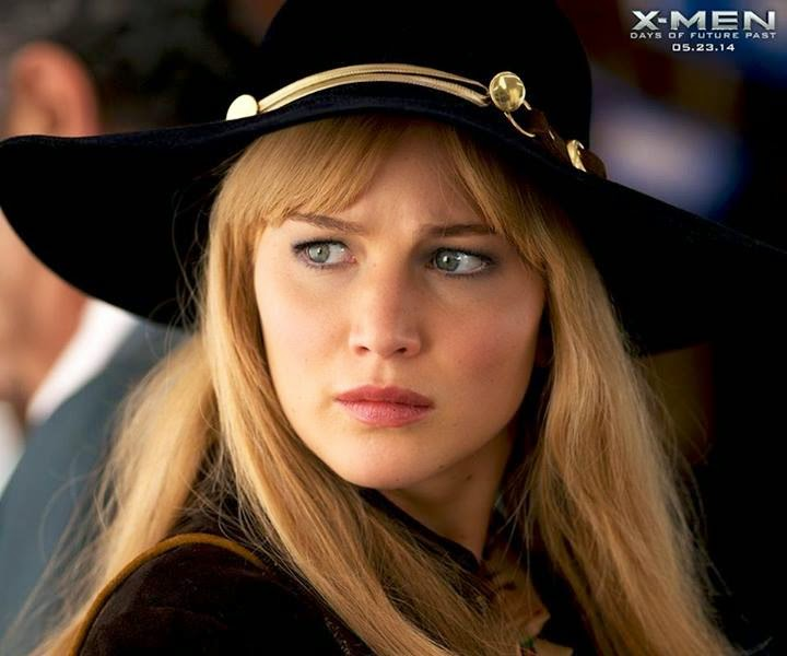 Jennifer Lawrence as Mystique Raven Darkholme in X Men Days of Future Past
