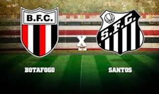 Botafogo-SP x Santos Jogo Ao Vivo hoje Quarta-feira no Premiere.