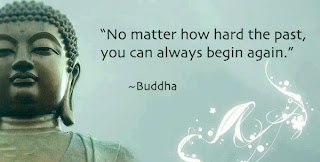 Lord Gautama Buddha wallpaper with quotes for Facebook