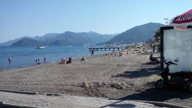 Бесплатный пляж, Мармарис, Турция