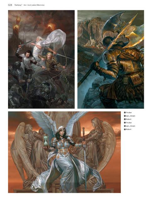 Donato Giancola artbook fantasy magic artwork