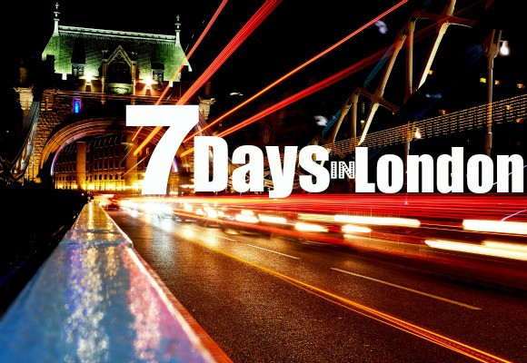 Seven days in London