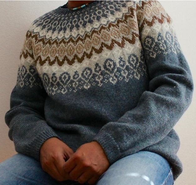как хорошо уметь вязать свитерок с круглой кокеткой спицами схема