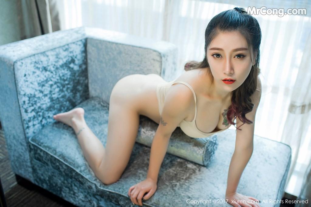 Image XIUREN-No.812-Du-Hua-Hua-MrCong.com-025 in post XIUREN No.812: Người mẫu Du Hua Hua (杜花花) (48 ảnh)