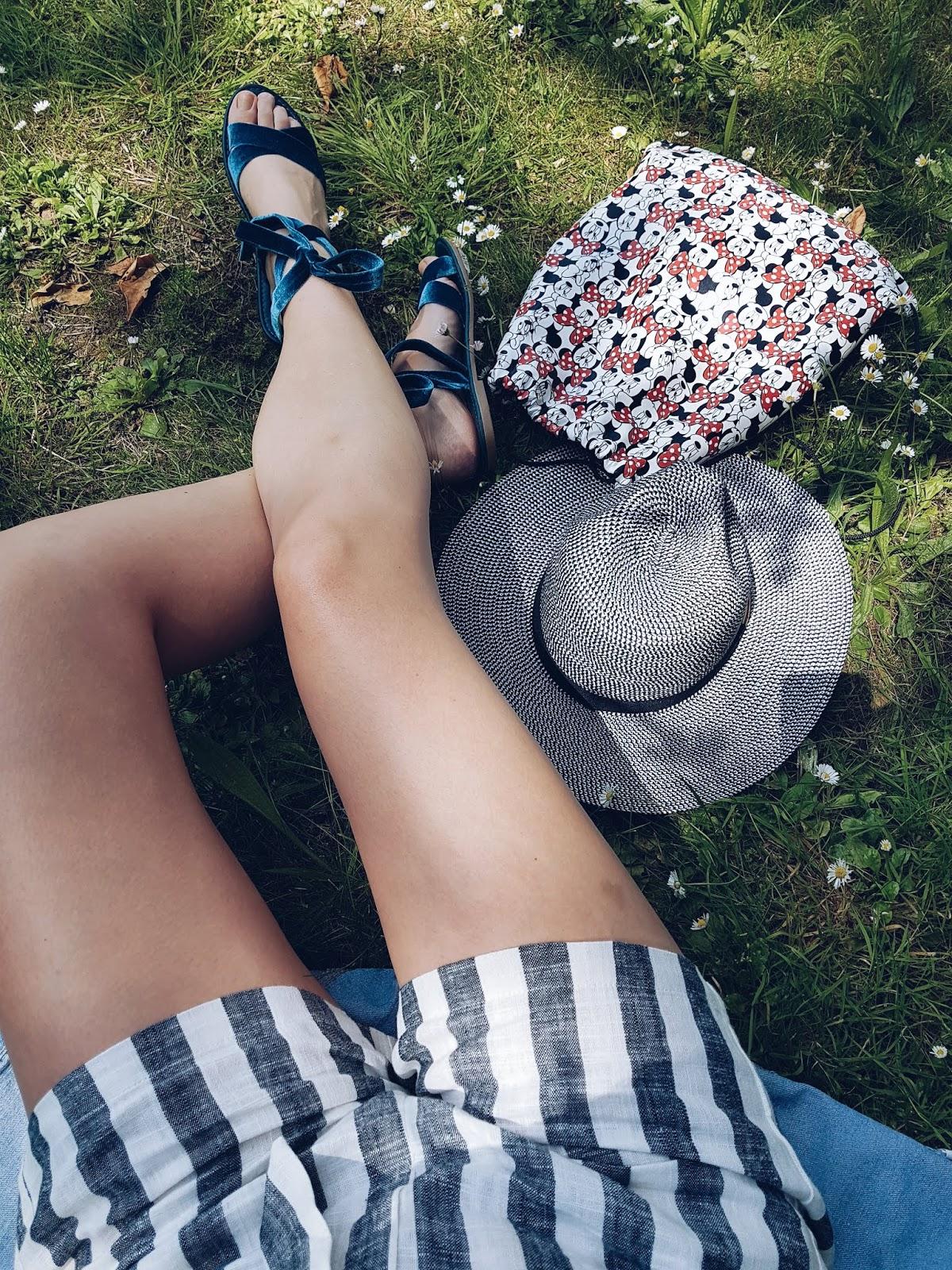 Kapelusz, szorty i sandały czyli lato wiosną