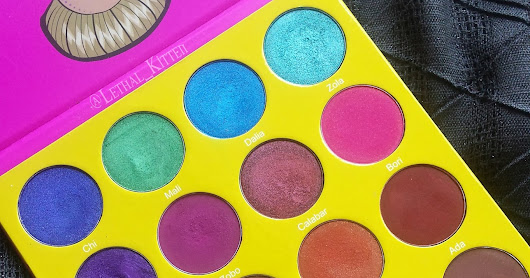 Juvia's Place Masquerade Palette Review and Swatches