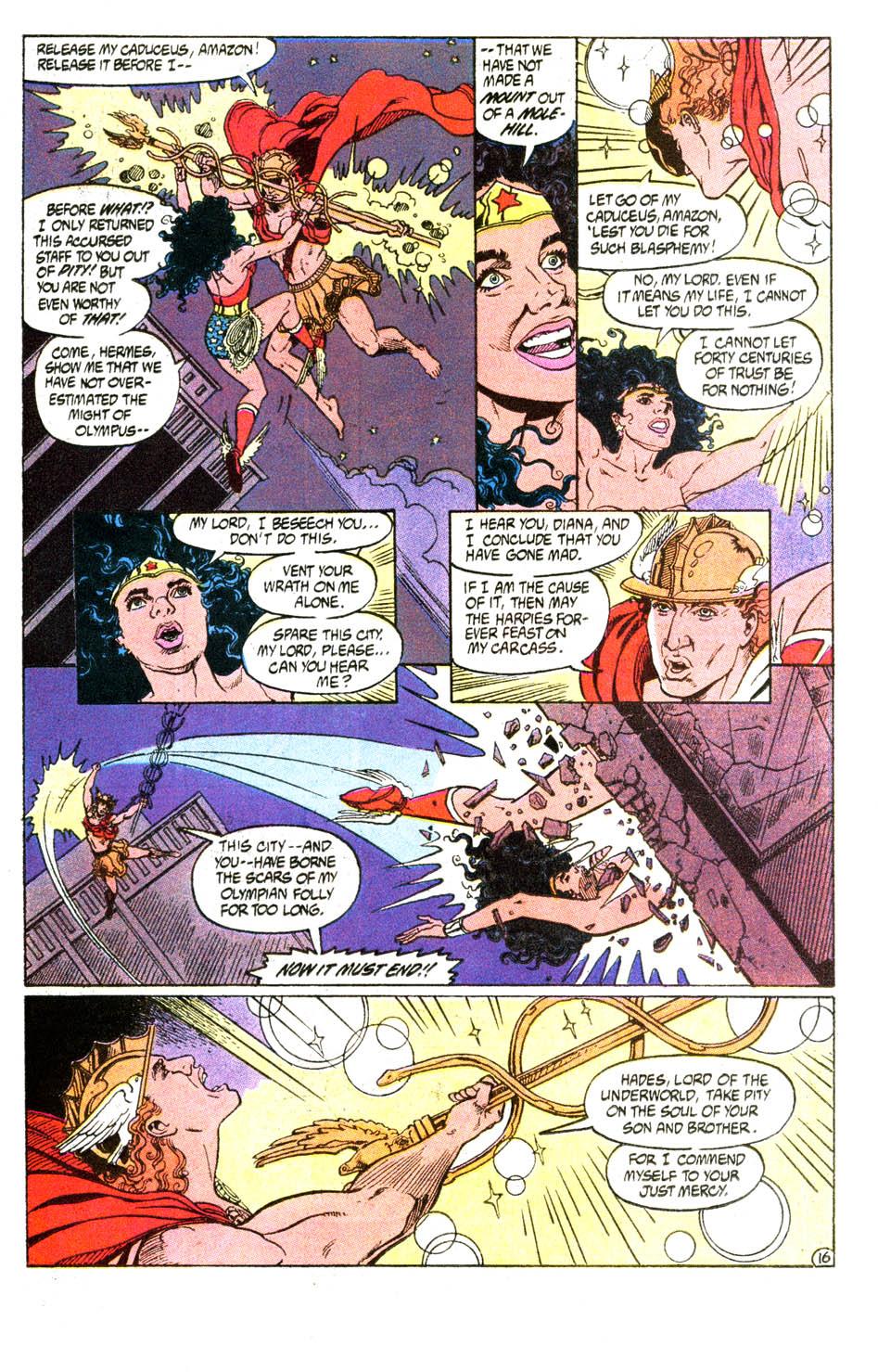 Read online Wonder Woman (1987) comic -  Issue #54 - 17
