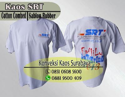 Tempat Pusat Grosir Buat Kaos Promosi di Surabaya