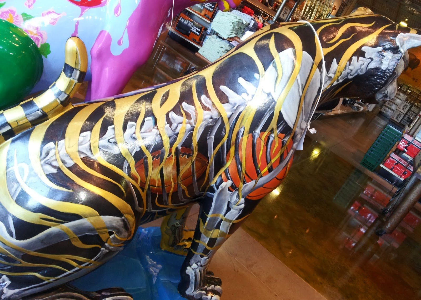 Mustang Dreams Tigers On The Prowl Painted Tigers