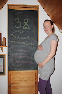 Bauchbild 38. Schwangerschaftswoche