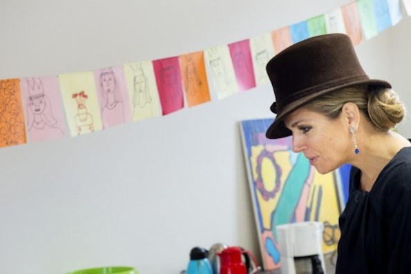 Dutch Queen Maxima opens the Outsider Art Museum at the Hermitage in Amsterdam