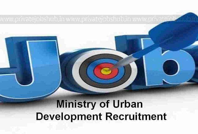 Ministry of Urban Development Recruitment