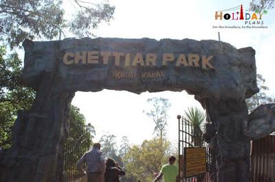 Entrance to Chettiar park
