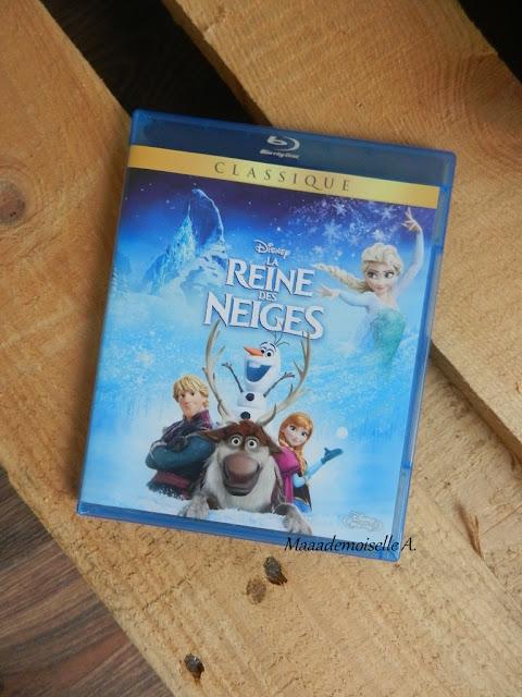 Blu-ray Reine des neiges