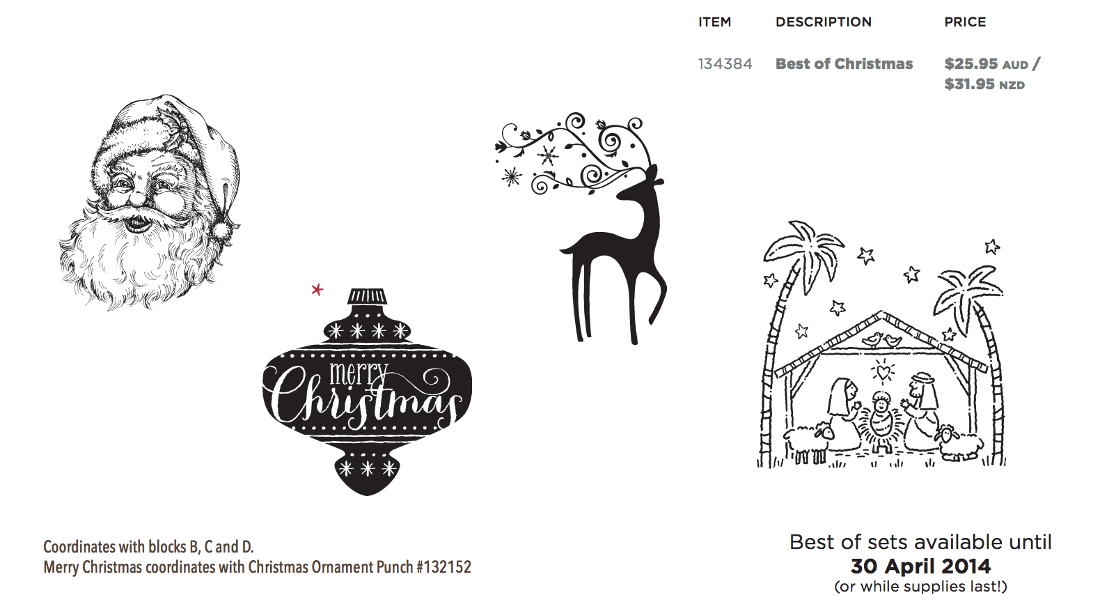 Nudge Nudge Ink Ink: Best of 25 Years: CHRISTMAS stamps