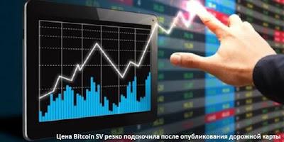Цена Bitcoin SV резко подскочила после опубликования дорожной карты