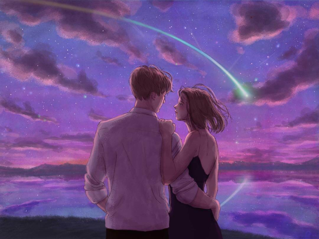 Artist Beautifully Captures The Magical Feeling Of Being In Love