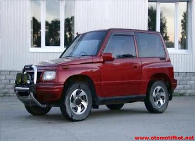 Spesifikasi Suzuki Escudo