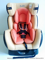 Convertible Car Seat CocoLatte CL858 Group 0+, 1 dan 2 (0 - 25kg)
