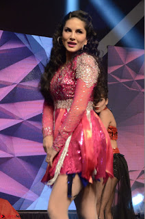 Sunny Leone Dancing on stage At Rogue Movie Audio Music Launch ~  034.JPG